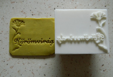 Herba soap stamps